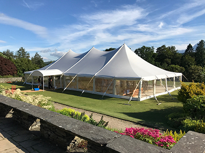 Queensberry Wedding Marquee hire