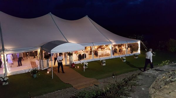 Pole Wedding Marquee Hire