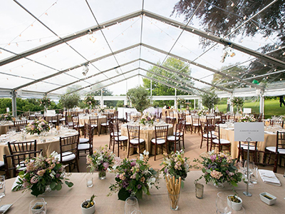 Wedding Marquee Clear Roofs