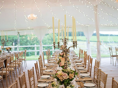 Wedding Marquee lining Hire