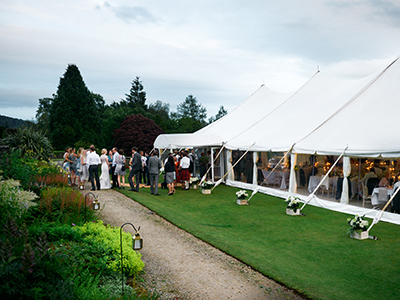 Marquee Entrance Hire