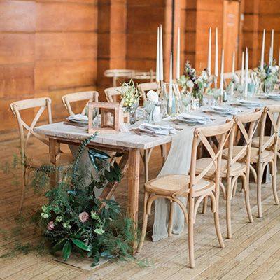 Cross Back Wedding Chair Hire