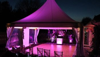 Event Uplighter Hire