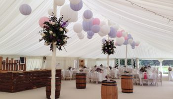 Pole Marquee Interiors