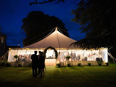 Traditional Marquee Hire