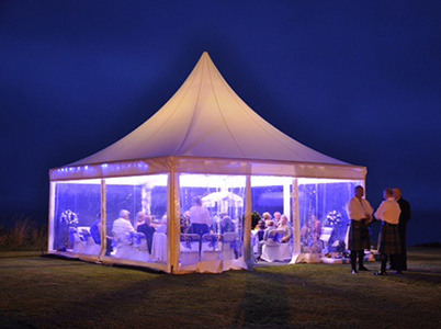 Queensberry Event Hire Marquee Uplighters