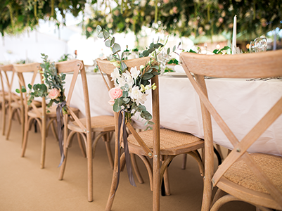 Queensberry Event Hire - Cross Back Chair