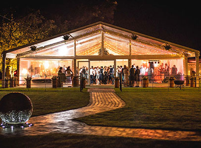 Queensberry Event Hire Frame Marquee Hire Scotland