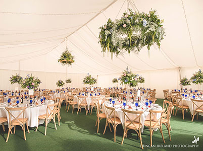 Queensberry Event Hire Marquee Size Guide