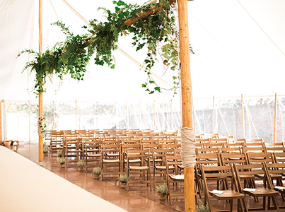 Queensberry Event Hire - Marquee Wooden Main Poles