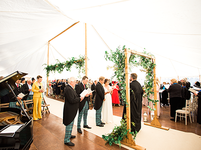 Queensberry Event Hire - Traditional Marquee Hire in Scotland
