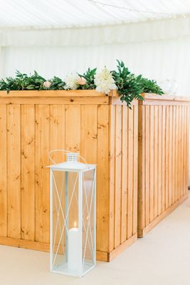 Queensberry Event Hire - wooden bar hire