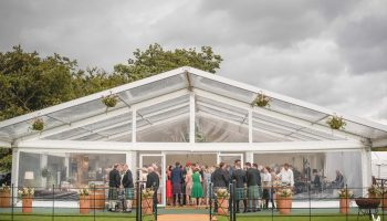 Clearspan Frame Marquee Hire - Queensberry Event Hire