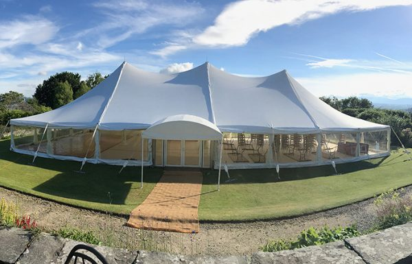 Queensberry Event Hire Pole Marquee Hire