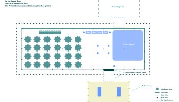 Queensberry Layouts 12x36m Marquee